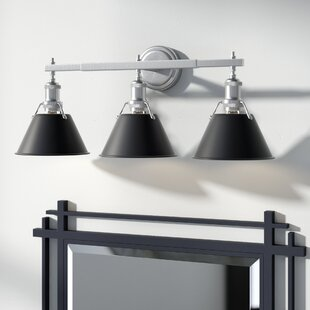 Price comparison Weatherford 3-Light Vanity Light By Trent Austin Design