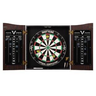 Vault Dartboard And Cabinet Set