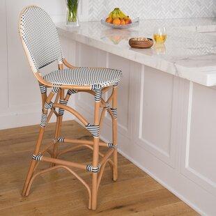 Awesome Tawanna Rattan Bar Stool Machost Co Dining Chair Design Ideas Machostcouk