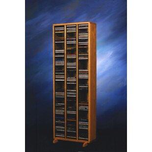 300 Series 240 CD Multimedia Storage Rack
