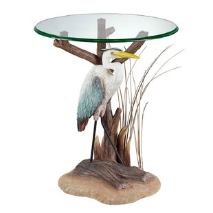 Zahara Heron End Table