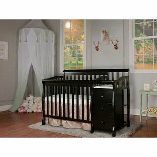 Read Reviews Jayden 3-in-1 Convertible Mini Crib and Changer Combo By Dream On Me