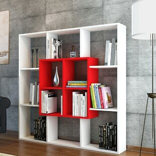 Valerii Modern Geometric Bookcase by Ebern Designs