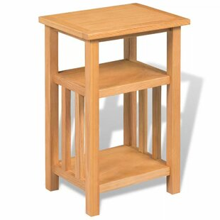 Renovo Solid Oak Side Table With Storage