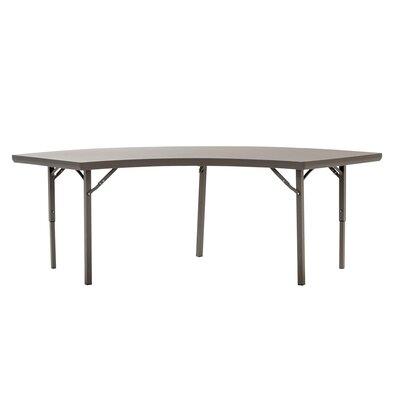 Zown Heavy Duty Commercial Semi Circle Folding Table