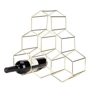 Belmont? Geomatric 6 Bottle Tabletop Wine..