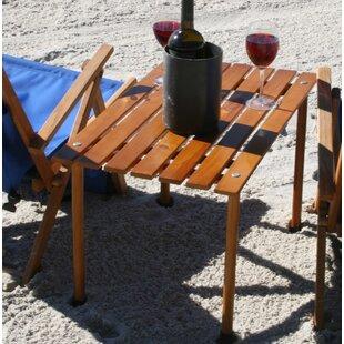 August Grove Kroeger Wood Picnic Table