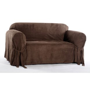 Chic Box Cushion Loveseat Slipcover