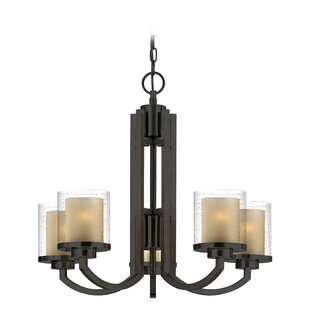 Kellum 5-Light Shaded Chandelier by Orren Ellis