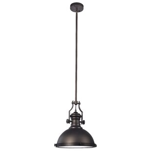 Compare & Buy 1-Light Bowl Pendant By Hardware House