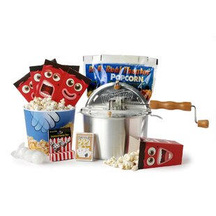 192 Oz. 9 Piece Popcorn Game Night Set Featuring the Original Whirley-Pop