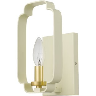 Kuester 1-Light Arm Sconce by Mercer41
