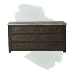 Myla 6 Drawer Double Dresser by Foundstone