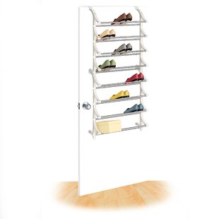 Rebrilliant 8-Tier 24 Pair Overdoor Shoe Organizer