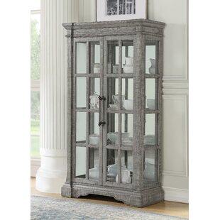 Henrik Wooden Curio Cabinet