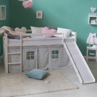 Melanie European Single Mid Sleeper Bed By Harriet Bee