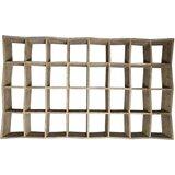 Zigzag 89 H x 53 W Standard Bookcase by Noir