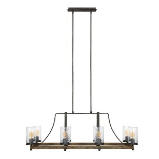 Laurel Foundry Modern Farmhouse Zaria 8-Light Kitchen Island Pendant