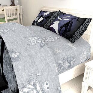 Nightmare Before Christmas Meant To Be Sheet Set By Disney