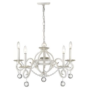 Mulhern 5-Light Candle Style Chandelier by House of Hampton