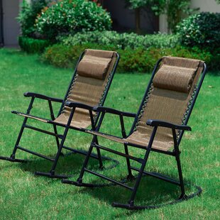 Staton Folding Rocking Chair (Set of 2)