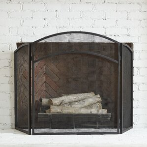 Fireplace Screens You'll Love | Wayfair