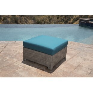 Koerner Outdoor Ottoman With Sunbrella Cushions by Red Barrel Studio Find