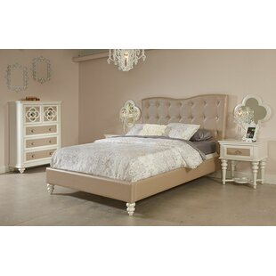 Paris Upholstered Platform Bed by Najarian Furniture