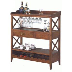 9 Bottle Floor Wine Rack by All Things Cedar