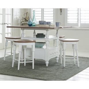 Galliano 5 Piece Dining Set by Rosecliff ..