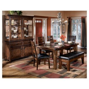 Spencerville 6 Piece Wood Dining Set by Three Posts