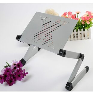 Cooling Pad Adjustable Standing Desk Converter