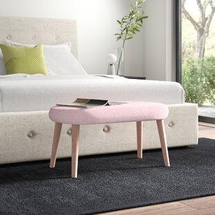 Shetland Upholstered Bench By MONKEY MACHINE
