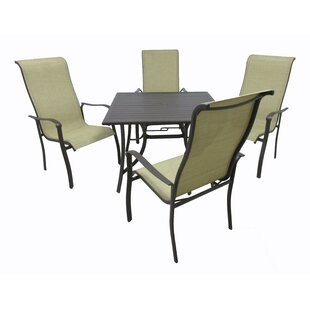 Latitude Run Marco 5 Piece Dining Set