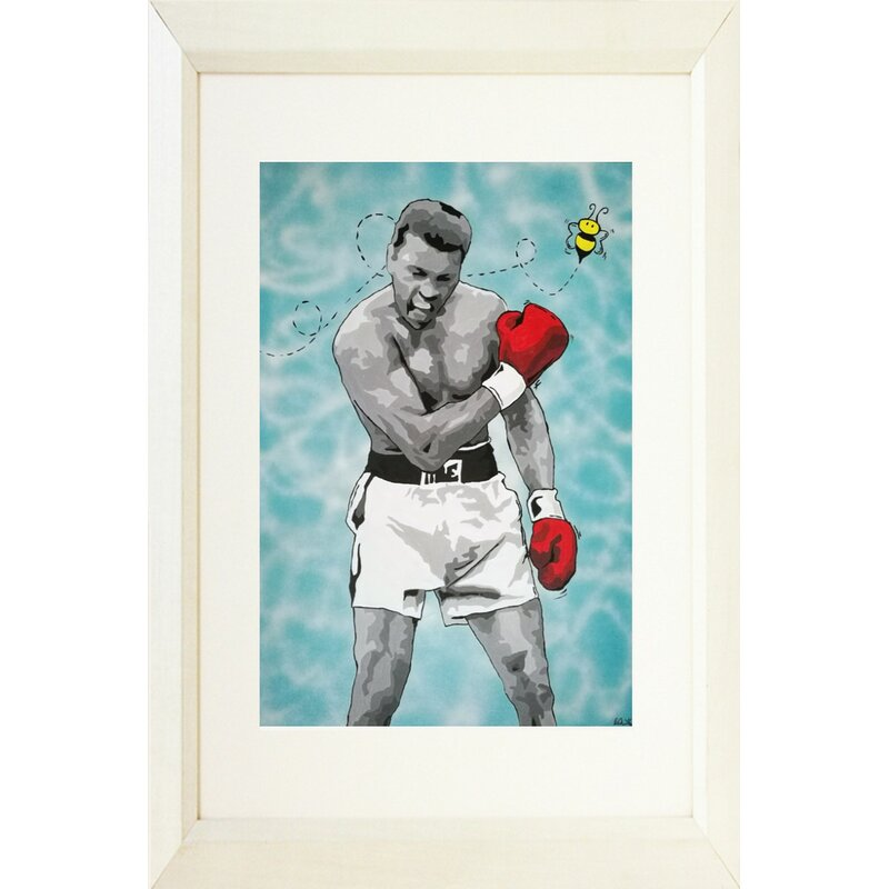 Wall Art Print Boxing Glove Float Like a Butterfly Poster Picture A4//A3//A2 Graff