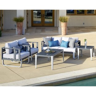 ArAgon 5 Piece Seating Group with Cushions