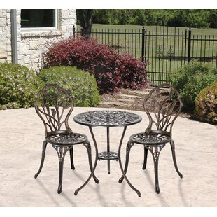 Encline Garden 3 Piece Bistro Set