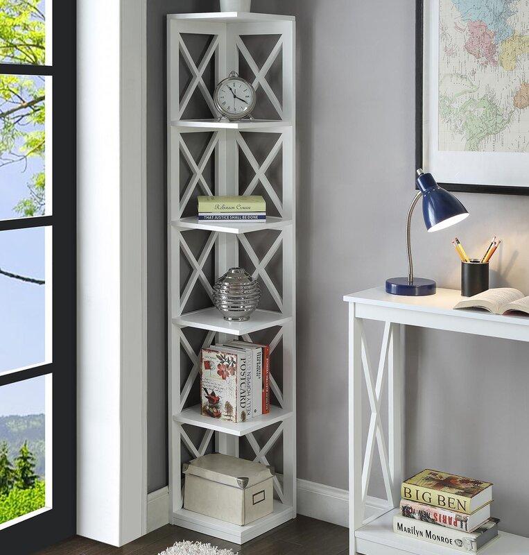Stoneford Corner Unit Bookcase