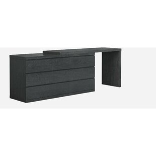 Carino 6 Drawers Double Dresser Extension