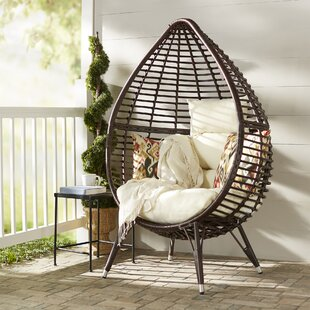 Teardrop Patio Chair with Cushions