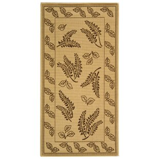 Laurel Natural/Brown Indoor/Outdoor Area Rug