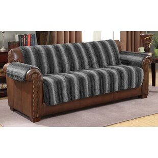 Loon Peak Luxury Box Cushion Sofa Slipcover