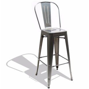 Savana High Back 26 Bar Stool by 17 Stories New Design