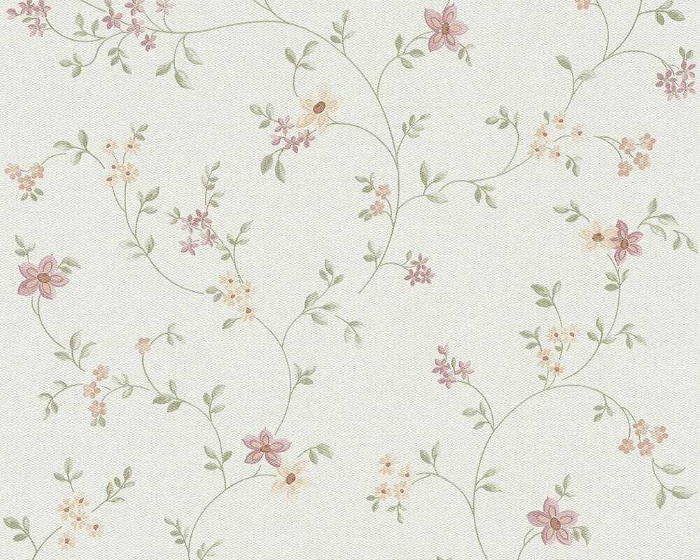 August Grove Ensor Modern Classic 33 L X 21 W Floral Wallpaper