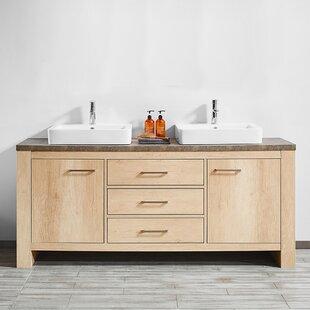 Kemp 72 Double Bathroom Vanity Set by Union Rustic