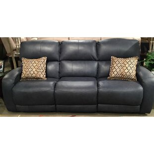 Fandango Leather Reclining Sofa