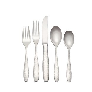 65 Piece Dinner Flatware Set, Service for 12