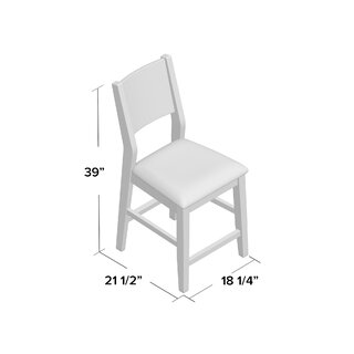 Andy Upholstered Dining Chair (Set of 2) by Brayden Studio SKU:CE911835 Check Price