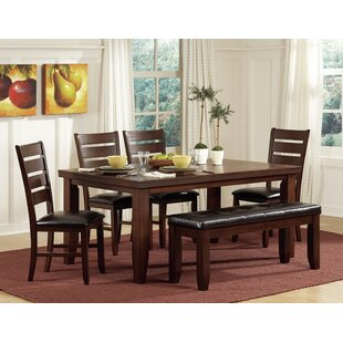 Leola Dining Table Millwood Pines