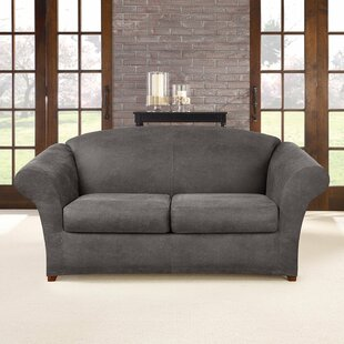 Bargain Ultimate Stretch Box Cushion Sofa Slipcover by Sure Fit Reviews (2019) & Buyer's Guide
